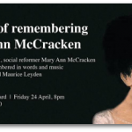 A Night of Remembering Mary Ann McCracken