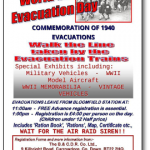 Saturday 4th July is World War II Evacuation Day.