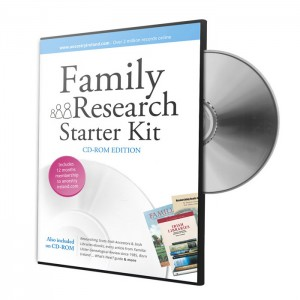 Family Research Starter Kit CD-ROM