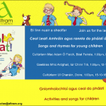 Songs and Rhymes for Young Children Launch Event.