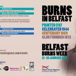 Belfast Burns Week: 21st - 28th January 2017