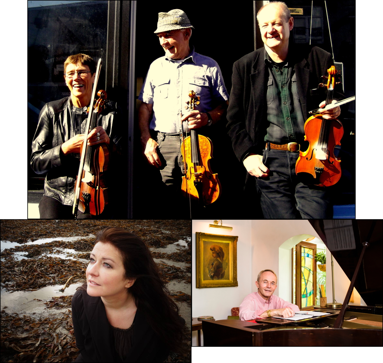 Nigel Boullier, Carolyn Dobbin and Philip Hammond