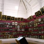 Smith Gallery containing portraits of Dunedin's earliest settlers, Toitu Otago Settlers Museum