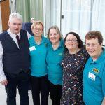 Fintan, Gillian and committee members of Genealogy Sunshine Coast, 27 May 2017