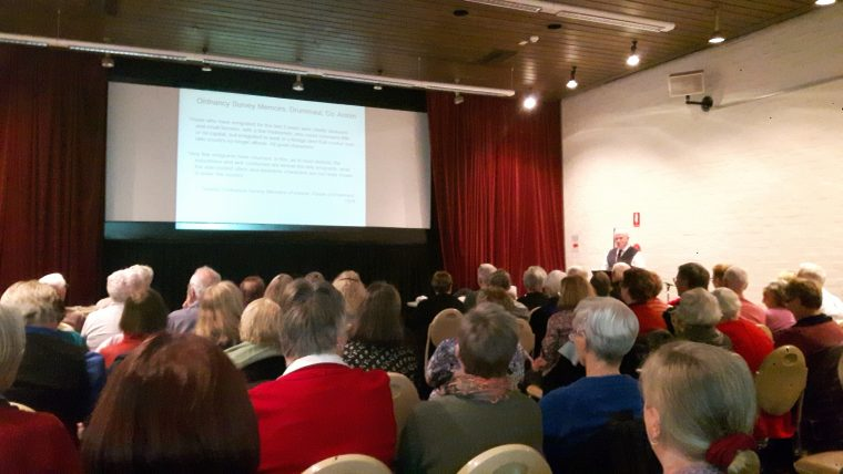 Melbourne workshop 1, hosted by the Australian Institute of Genealogical Studies, 30 May 2017