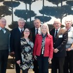 Fintan and Gillian with Geraldene O'Reilly (who was instrumental in arranging our participation in the New Zealand Society of Genealogists' Conference) and committee members of the Loyal Orange Institution of New Zealand which facilitated our travel to New Zealand