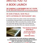 Sion Mills Book Launch