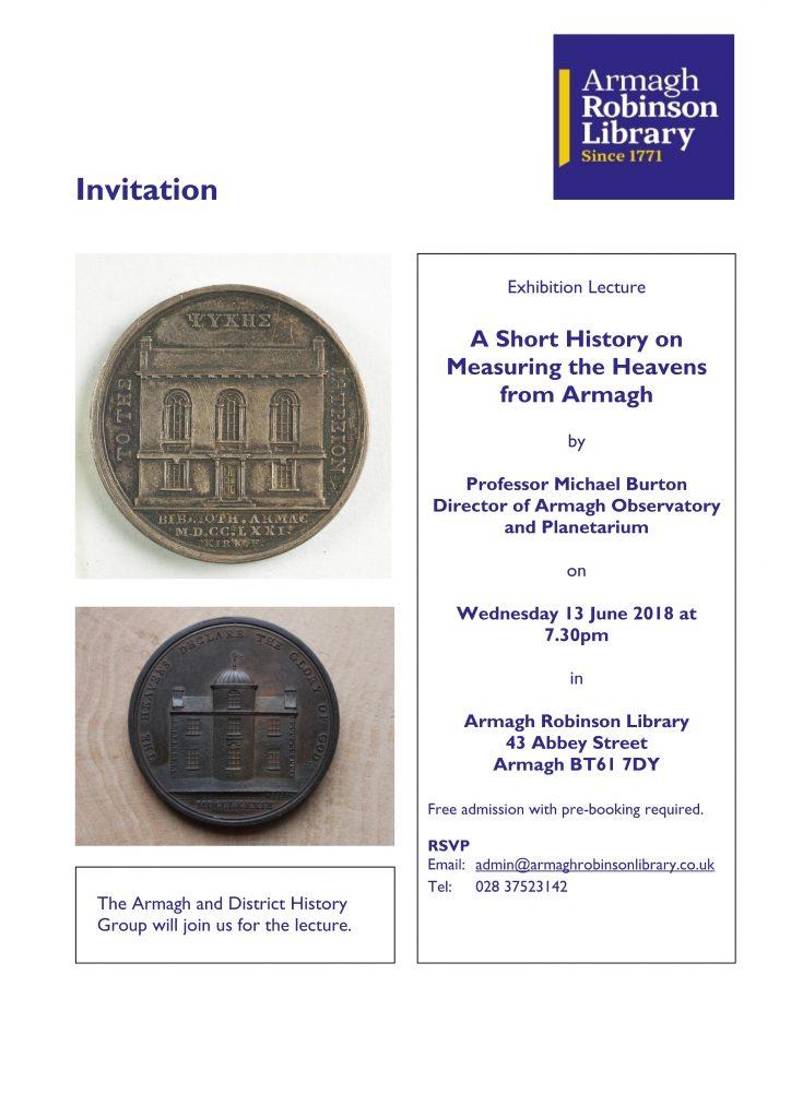 Invitation to Astronomy Lecture