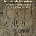 New cover design for the forthcoming second edition of the classic book,  Researching Scots-Irish Ancestors