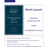 Book Launch - Wednesday 26 September, Armagh Robinson Library