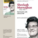Sheelagh Murnaghan Book Launch - October 3, 2019