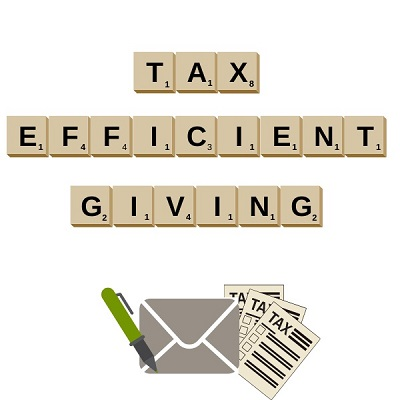Tax efficient giving